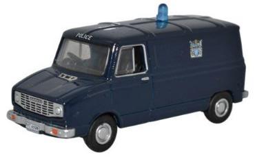 Oxford 1:76 Sherpa van Metropolitan Police blaw