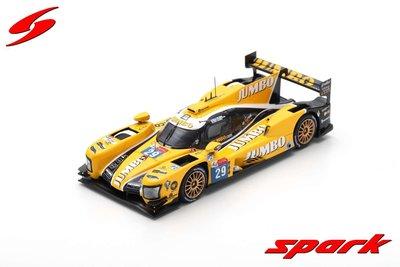Spark 1:43 Dallara P217 Gibson no 29 F Van Eerd, G Van Der Garde, J Lammers Racing Team Nederland