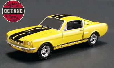 ACME 1:64 Shelby GT350 Caffeine & Coffee 1966 yellow with black stripes