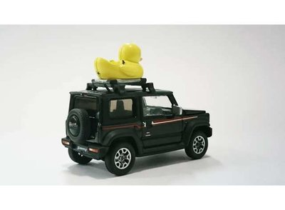 Era Car 1:64 Suzuki Jimmy Sierra Heritage with Era Duck 2019 donkergrijs