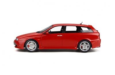 Otto Mobile 1:18 Alfa Romeo 156 GTA Sportwagon Alfa Rosso. Levering 10/2019. Te reserveren