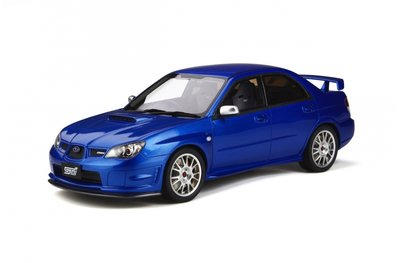 Otto Mobile 1:18 Subaru Impreza STI S204 WRX Blue Mica 02C oplage 1500 stuks