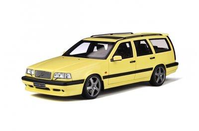 Otto Mobile 1:18 Volvo 850 T5-R Estate Cream Yellow oplage 2000 stuks