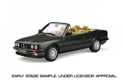 Otto Mobile 1:18 BMW E30 325i Convertible Achat green oplage 2000 stuks