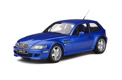Otto Mobile 1:18 BMW Z3 M Coupe 3.2 Estoril Blauw