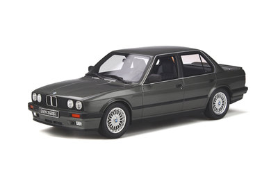 Otto Mobile 1:18 BMW E30 325i Sedan Dolphin Grey. Levering april 2020