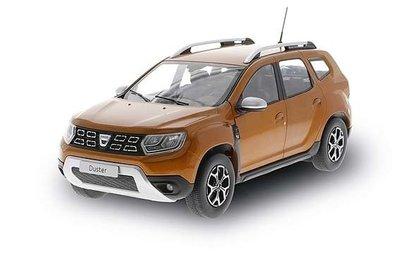 Solido 1:18 Dacia Duster MK II oranje. Verwacht eind week 22