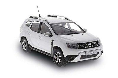 Solido 1:18 Dacia Duster MK II wit. Verwacht eind week 22