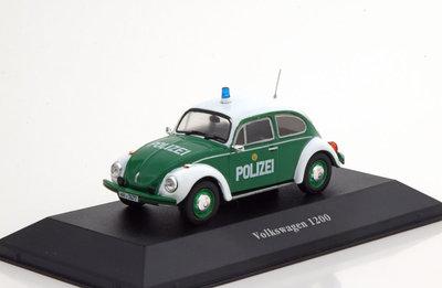 Atlas 1:43 Volkswagen Kafter 1200 Polizei 1977