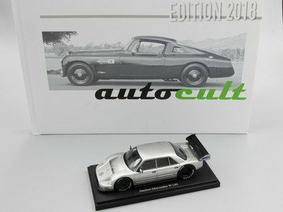 Autocult 1:43 Sauber Mercedes W140 Germany 1990. Set Book of the Year 2018