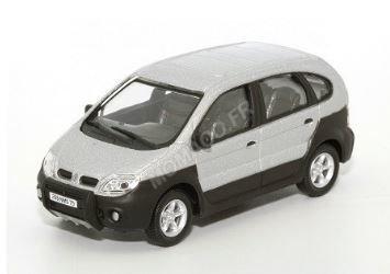 Cararama 1:43 Renault Scenic 4X4 grijs, in window box