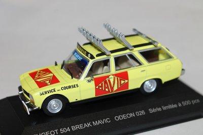 Odeon 1:43 Peugeot 504 Break