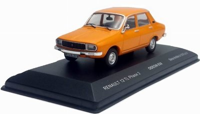 Odeon 1:43 Renault 12 TL Phase 2 oranje 1976, porduct by IXO