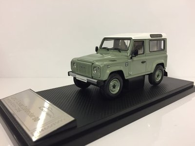 Almost Real 1:43 Land Rover Defender 90 Heritage Edition 2015 groen wit