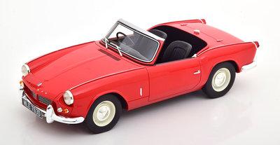 Cult Modells 1:18 Triumph Spitfire MK2 Roadster 1965 rood