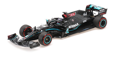 Minichamps 1:18 Mercedes AMG Petronas F1 no 44 Lewis Hamilton 91st F1 Win Eifel GT 2020 Team W11 EQ Performance