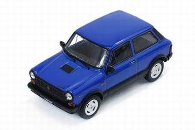 Premium X 1:43 Autobianchi A112 Abarth 1980 blauw