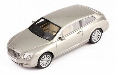 Premium X 1:43 Bentley Continental Flying Star 2010 grijs