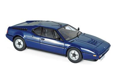 Norev 1:18 BMW M1 1980 blauw