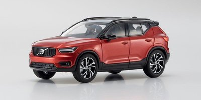 Kyosho 1:43 Volvo XC40 rood / red metallic