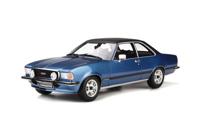 Otto Mobile 1:18 Opel Commodore B GS/E, Opel Lake Blue oplage 999 stuks
