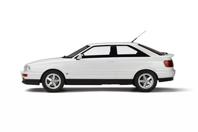 Otto Mobile 1:18 Audi S2 Pearl White - C9, oplage 999 stuks