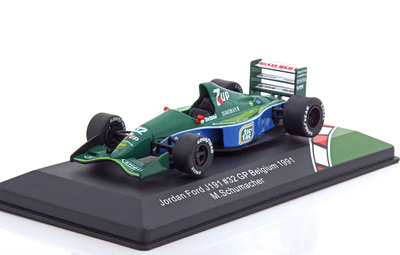 CMR 1:43 Jordan Ford 191 Michael Schumacher no 32 GP Belgie First Race 1991