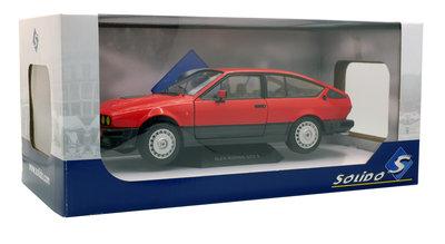 Solido 1:18 Alfa Romeo GTV6 1984 rood