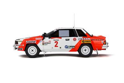 Otto Mobile 1:18 Nissan 240 RS Safari Rally 1984 oplage 1500 stuks
