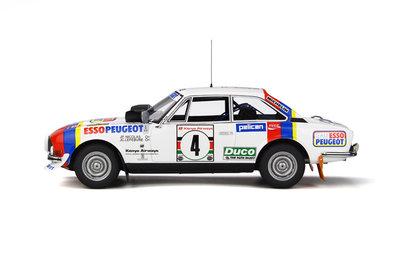 Otto Mobile 1:18 Peugeot 504 Gr4 Coupe V6 Safari Rally 1978, oplage 2000 stuks