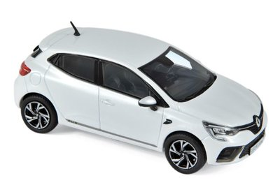 Norev 1:43 Renault Clio R.S. Line 2019 - Pearl White, Limited quantity