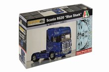 "Italeri 1:24 Scania R620 ""Blue Shark"" bouwdoos"