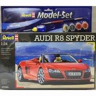 Revell 1:24 Audi R8 Spyder bouwdoos met lijm verf en penceel