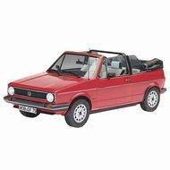 Revell 1:24 Volkswagen Golf 1 Cabriolet plastic modelkit