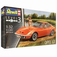 Revell 1:32 Opel GT bouwdoos level 3, plastic modelkist