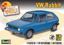 Revell US 1:25 Volkswagen Rabbit Golf I Plastic modelkit