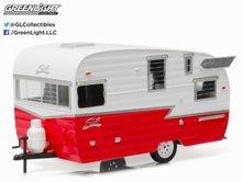 Greenlight 1:24 Shasta 15' Airflyte caravan rood