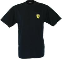 Ferrari T-shirt zwart maat M