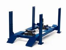 Greenlight 1:18 4 Koloms hefbrug / 4 Post Service lift blauw