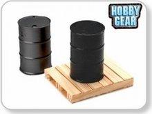 Hobby Gear 1:24 Pallet & Drum