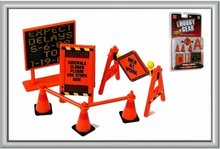 Hobby Gear 1:24 Road Signs