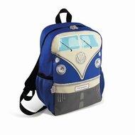 Volkswagen rugtas / travelbag blauw 36 x 25 x 15 cm