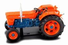 Atlas 1:43 OM 750 tractor 1969 oranje blauw