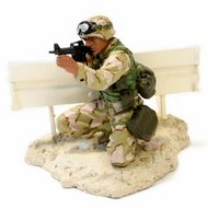 Forces of Valor 1:32 Marine PFC Miller Bagdad 2003