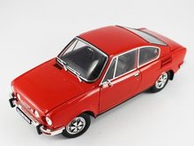 Abrex 1:18 Skoda 110R Coupe rood