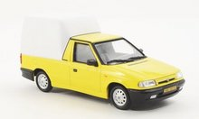 Abrex 1:43 Skoda Felicia pick-up geel met wit 1996