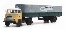 """Artitec DAF 1 as trailer met huif, cab '59 """"GTW"""""""