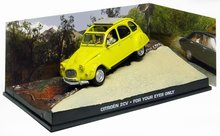 Atlas 1:43 Citroen 2CV James Bond For Your Eyes Only