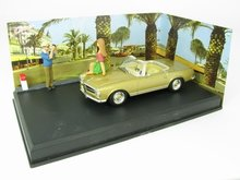 Atlas 1:43 Diorama Mercedes Benz 280 SL Cannes Antibes