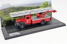 Atlas 1:43 Opel Blitz Feuerwehr Turntable Ladder Fire Truck